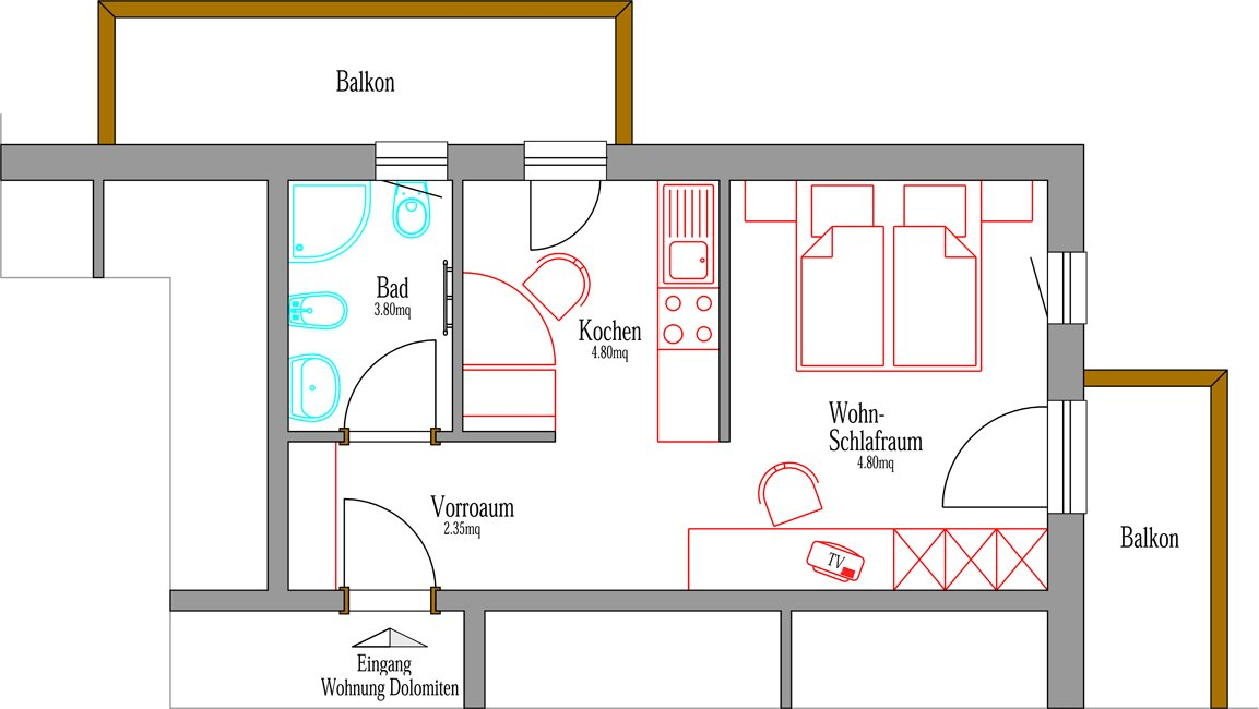 Appartement Bruneck Pustertal S 252 Dtirol Radm 252 Llerhof
